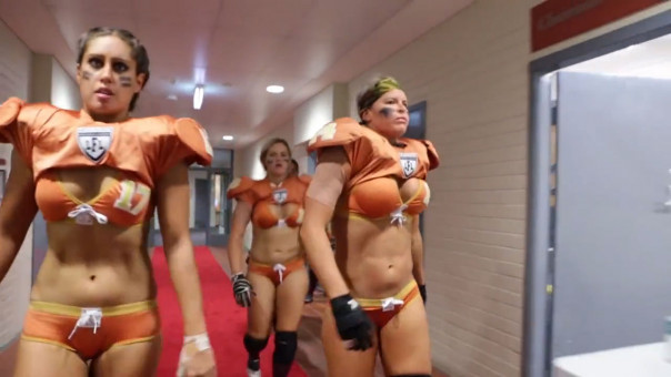 340 video irish woman becomes star of australia's lingerie football,Womens Underwear Football League Videos