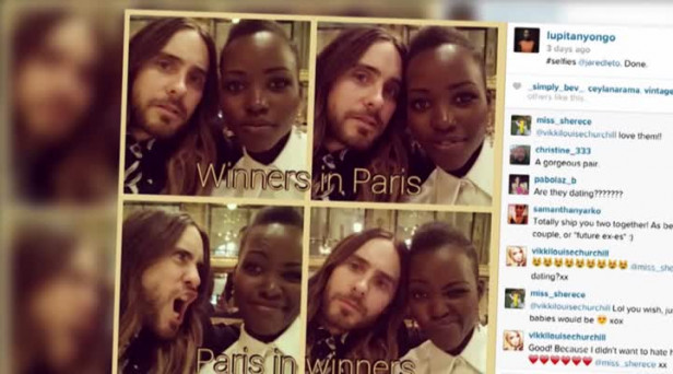 Are lupita and jared leto secretly dating