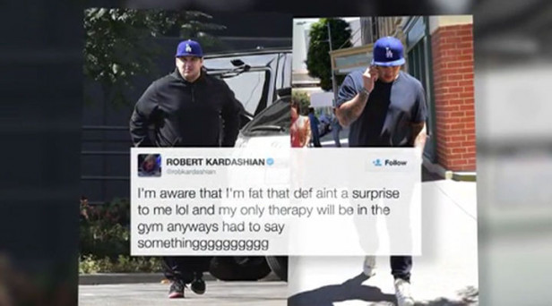 Rob Kardashian Lashes Out At Critics For Weight Comments