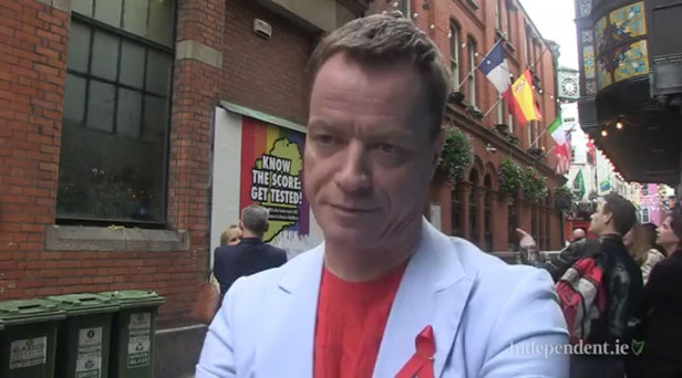 ARCHIVE VIDEO - 'At the time my HIV diagnosis was essentially a death  sentence  These days, it's a very different story,' says Rory O'Neill