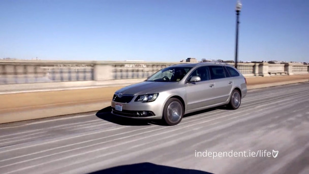 Video The Only Skoda Superb In America And We Ve Driven It