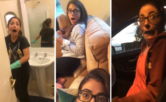 Video This Twins Hilarious Scare Cam On Her Sister Gets Better