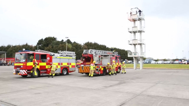 VIDEO: Take a look inside the rigorous training of the Dublin Fire Brigade