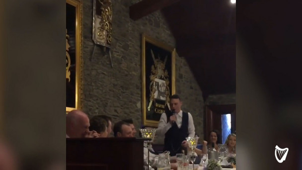 WATCH: Louth man stars 'Home and Away' sing-song at this own wedding