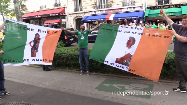 12edf5eda5 Euro 2016   This is Tom. He isn t here because he got a new gf  - These  lads have just burned their friend with two epic flags