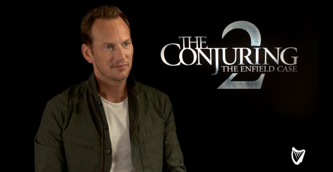 VIDEO - Conjuring 2 star Patrick Wilson: 'Children's ghosts lived in my  house'