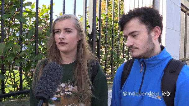 VIDEO: 'We were homeless for the first two weeks of college' - Dublin rent  crisis