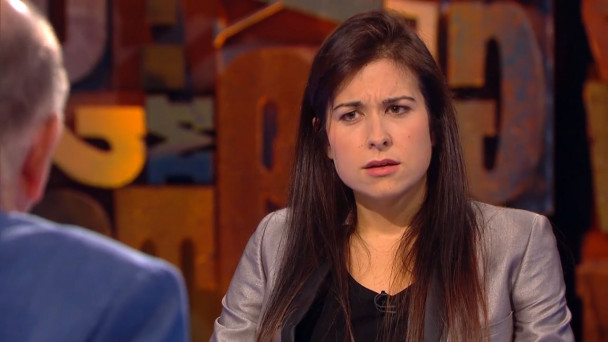 25723aed950 VIDEO: Stefanie Preissner's reactions to George Hook on Cutting Edge go  viral