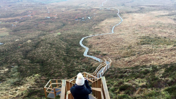 watch ireland s very own stairway to heaven weekend walk anyone