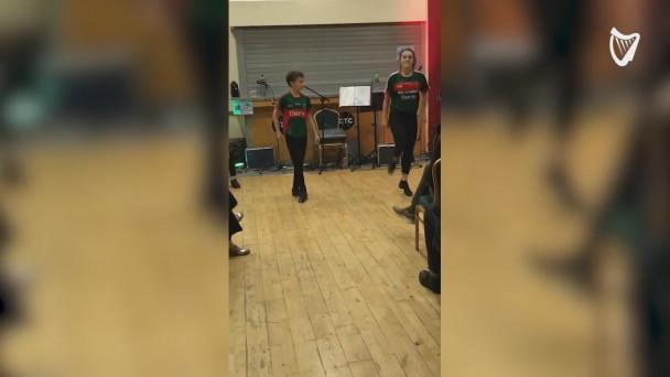 WATCH World Champion Irish Dancers Reach New Heights With - Irish dance floor for home