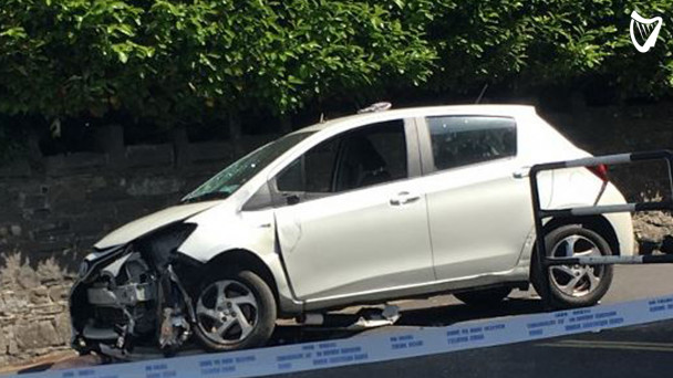 VIDEO: Number of people injured after car collides with pedestrians in  Dublin