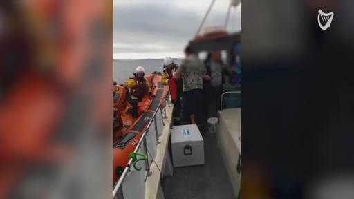 VIDEO: Man rescued after being bitten by shark off Cork coast
