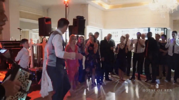 Watch World Class Irish Dancers Wow At Their Own Wedding Reception