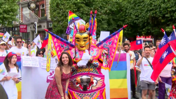 WATCH: 'A day for Dublin to be proud of its city' – Thousands celebrate  Pride in Ireland's capital