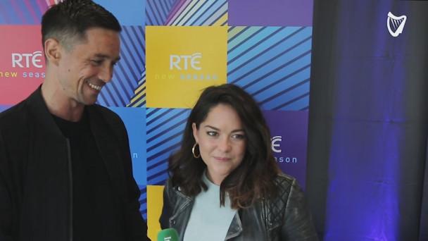 WATCH: Actors Sarah Greene and Killian Scott of Dublin Murders discuss  their 'dark seven months' of filming