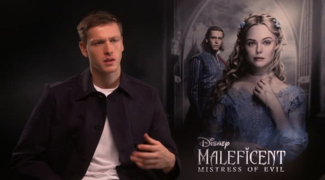 Maleficent Actor Harris Dickinson Compares Role To Prince Harry And Meghan Markle